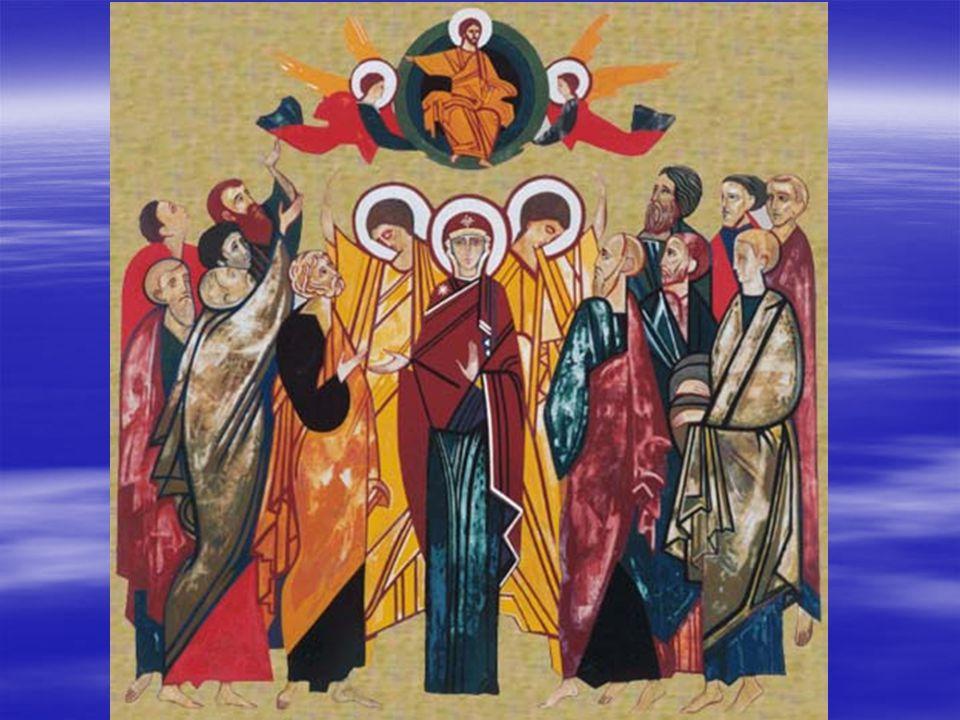 Il Signore Gesù, dopo aver parlato con loro, fu elevato in cielo