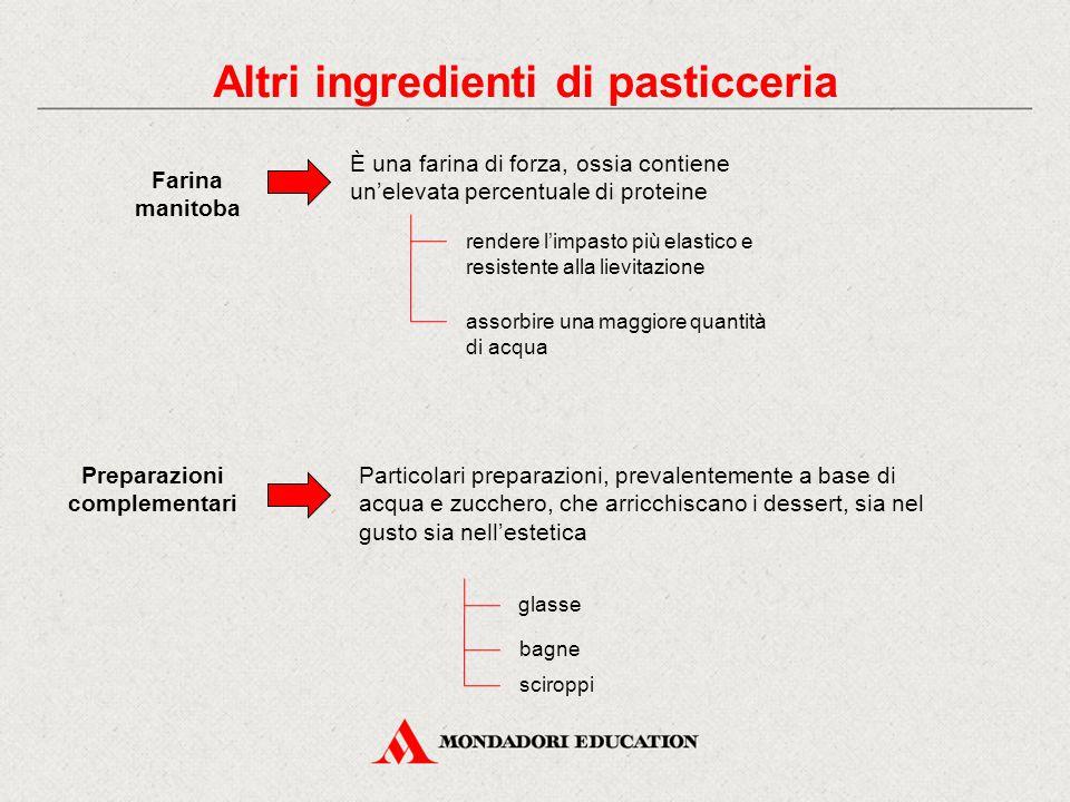 Farina manitoba È una farina di forza, ossia contiene un'elevata percentuale di proteine rendere l'impasto più elastico e resistente alla lievitazione