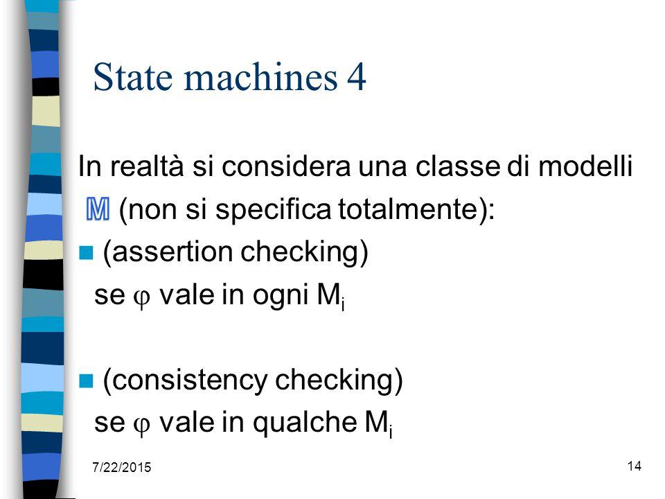 State machines 4 7/22/2015 14