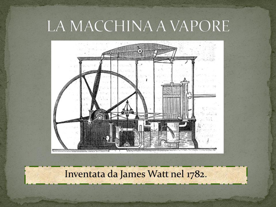 Inventata da James Watt nel 1782.