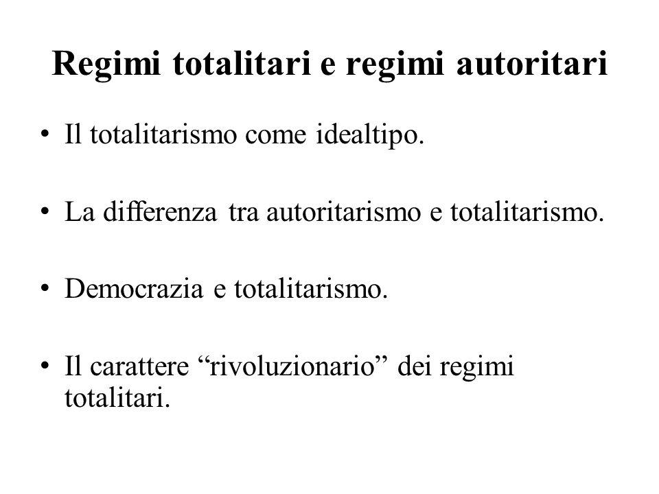 Le origini di un concetto Gli scritti degli antifascisti italiani.