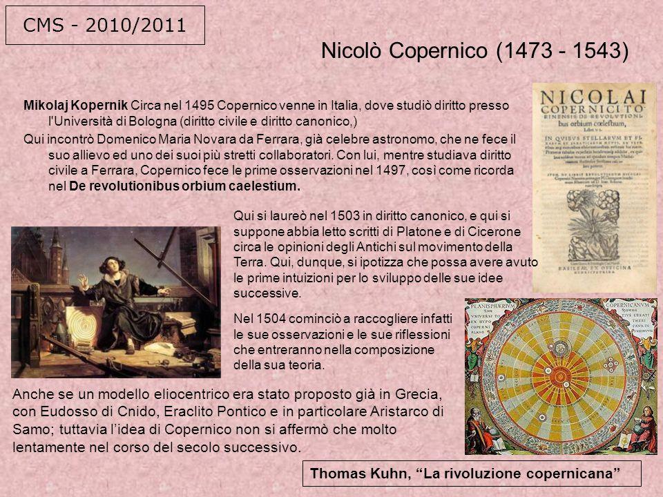 ...e poi Galileo, a Pisa, naturalmente.