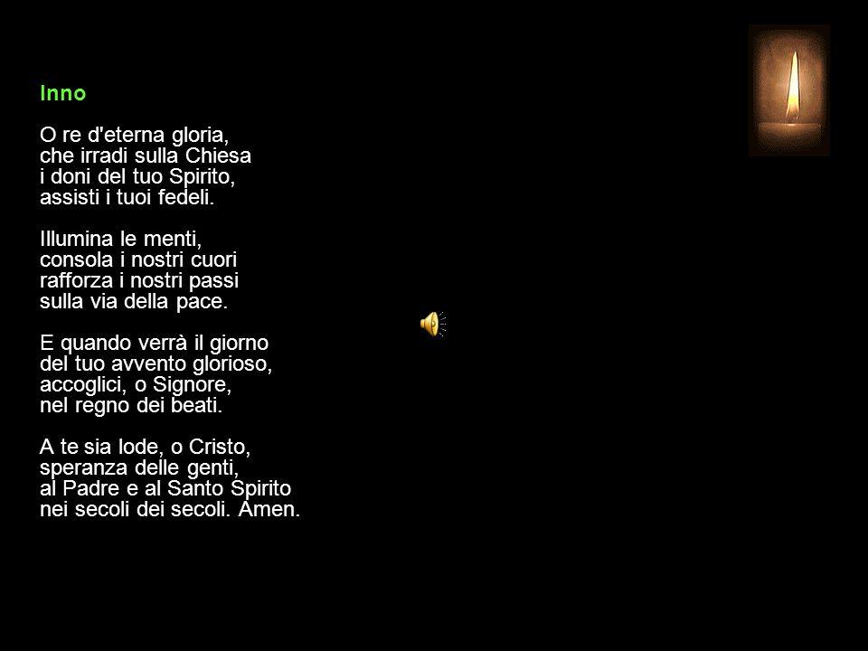 18 LUGLIO 2015 SABATO - XV SETTIMANA DEL TEMPO ORDINARIO UFFICIO DELLE LETTURE INVITATORIO V. Signore, apri le mie labbra R. e la mia bocca proclami l