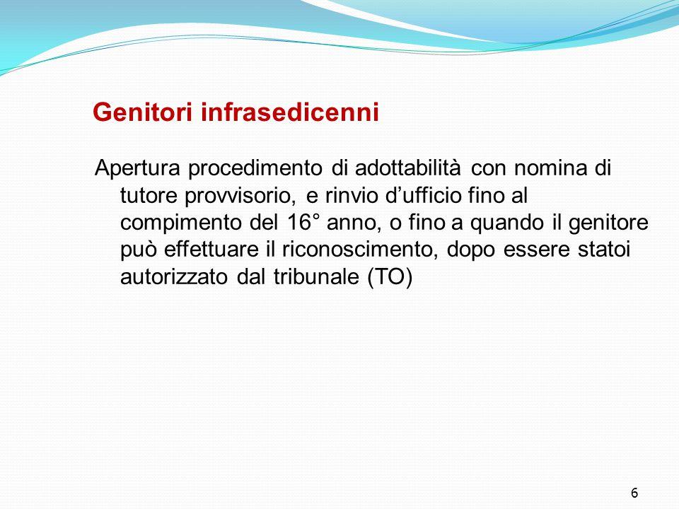 27 Funzione dell'AdS ● Sostenere senza necessariamente incapacitare, senza limitare (come invece avviene l'interdizione)