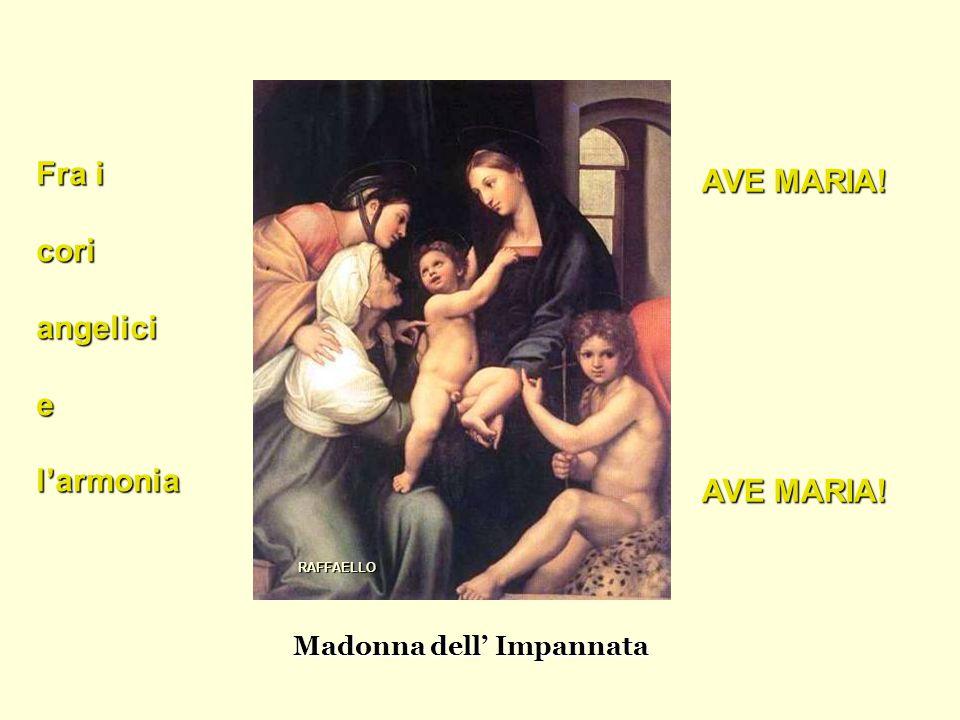 Madonna dell' Impannata Fra i coriangeliciel'armonia AVE MARIA! RAFFAELLO