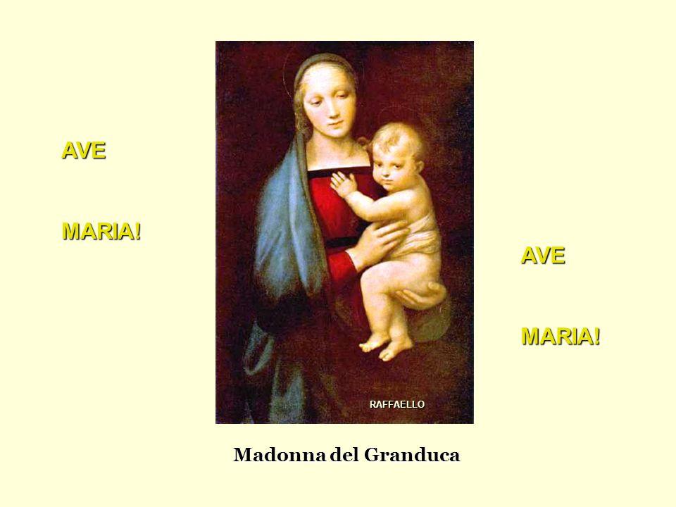 Madonna del Granduca AVEMARIA! AVEMARIA! RAFFAELLO