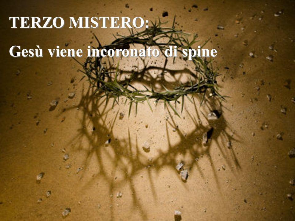 Pilato fece prendere Gesù e lo fece flagellare. Giovanni 19, 1