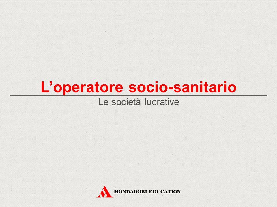 Le società lucrative