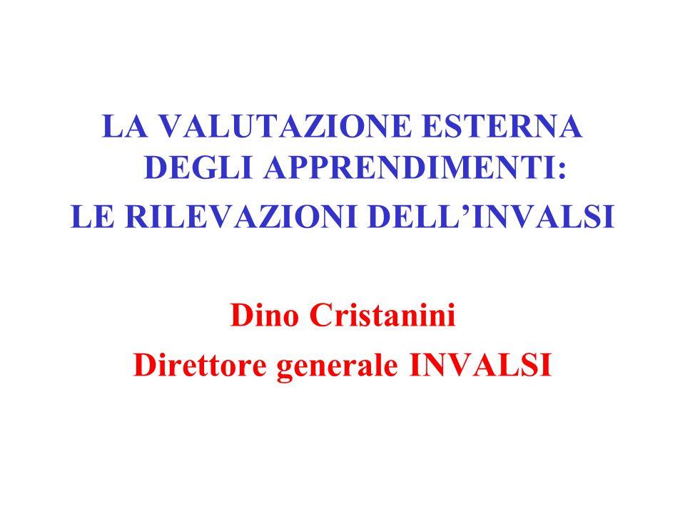 VALUTARE PER MIGLIORARE Art.3 c.1 lett.