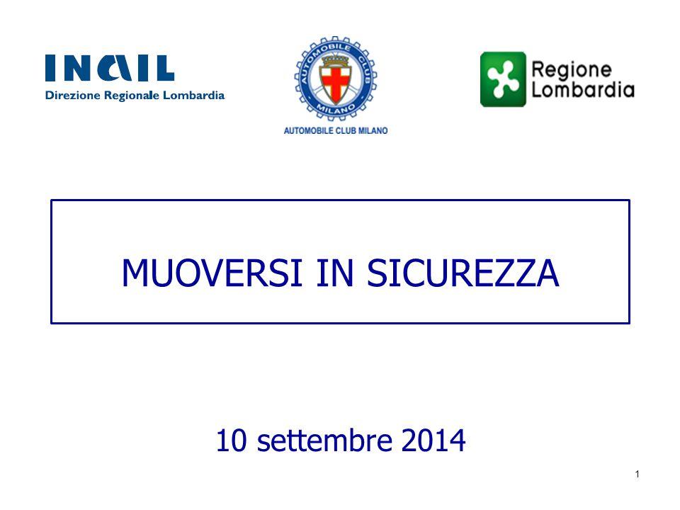 MUOVERSI IN SICUREZZA 10 settembre 2014 1
