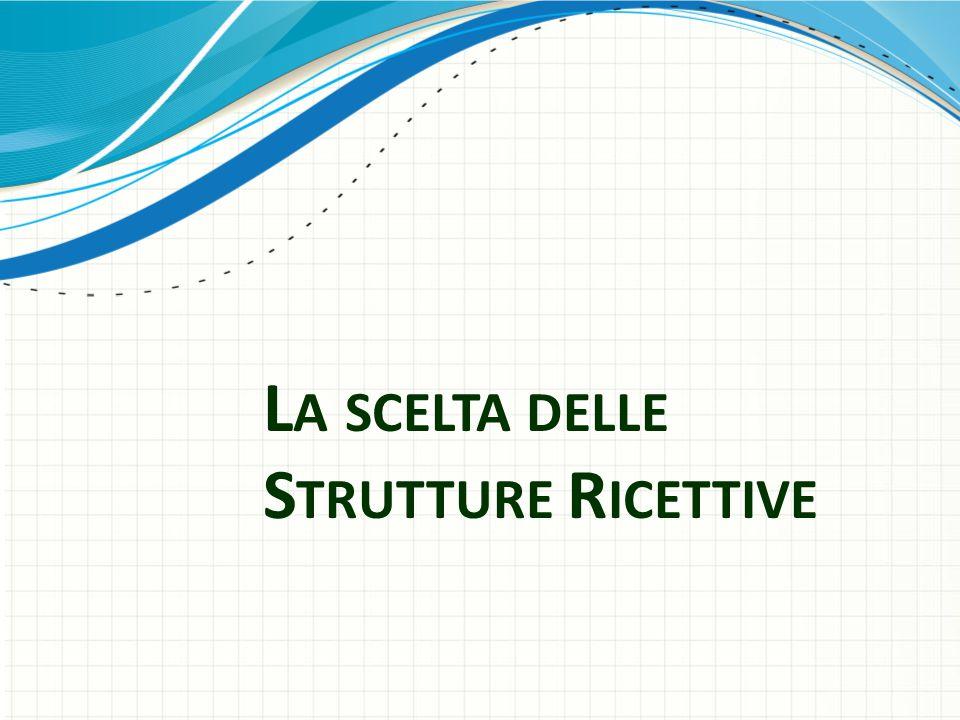 L A SCELTA DELLE S TRUTTURE R ICETTIVE