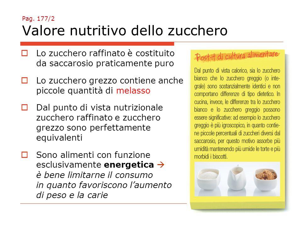 Pag. 178 Produzione zucchero di barbabietola