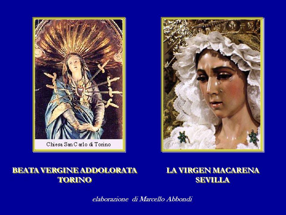 Ella è così Madre non soltanto del Figlio crocifisso, ma di ogni uomo che soffre in questo mondo.