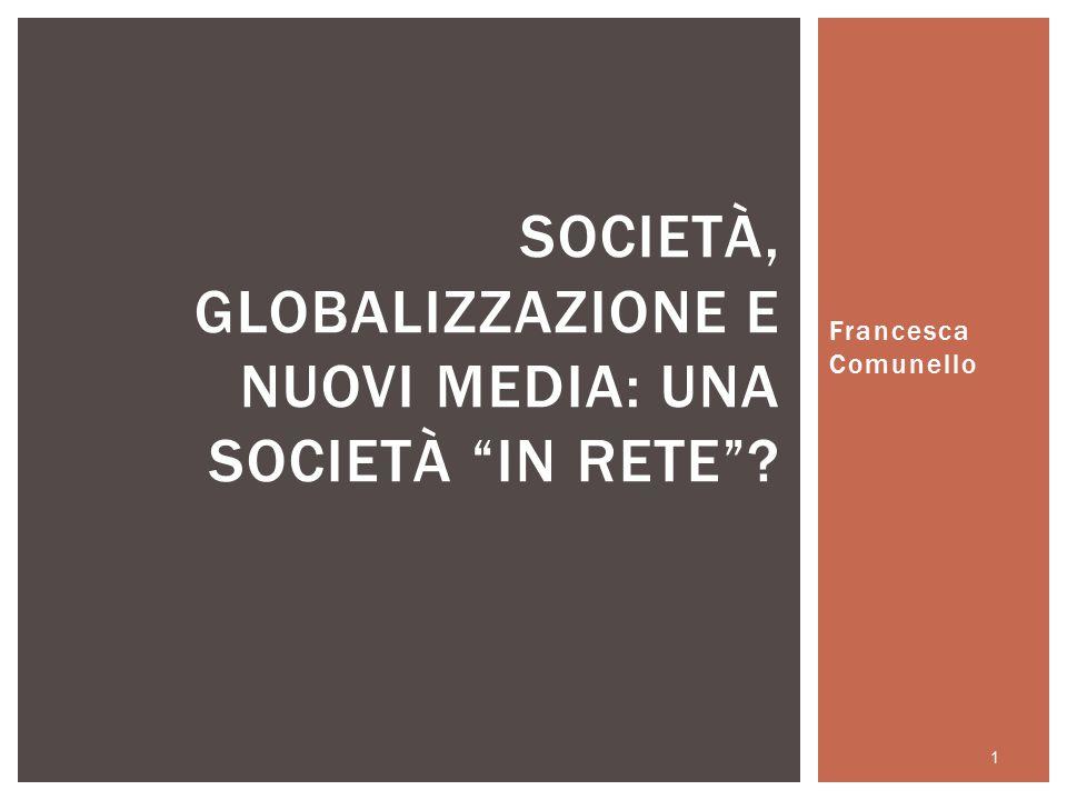 L'USO DI INTERNET FA MALE ALLE RELAZIONI SOCIALI.