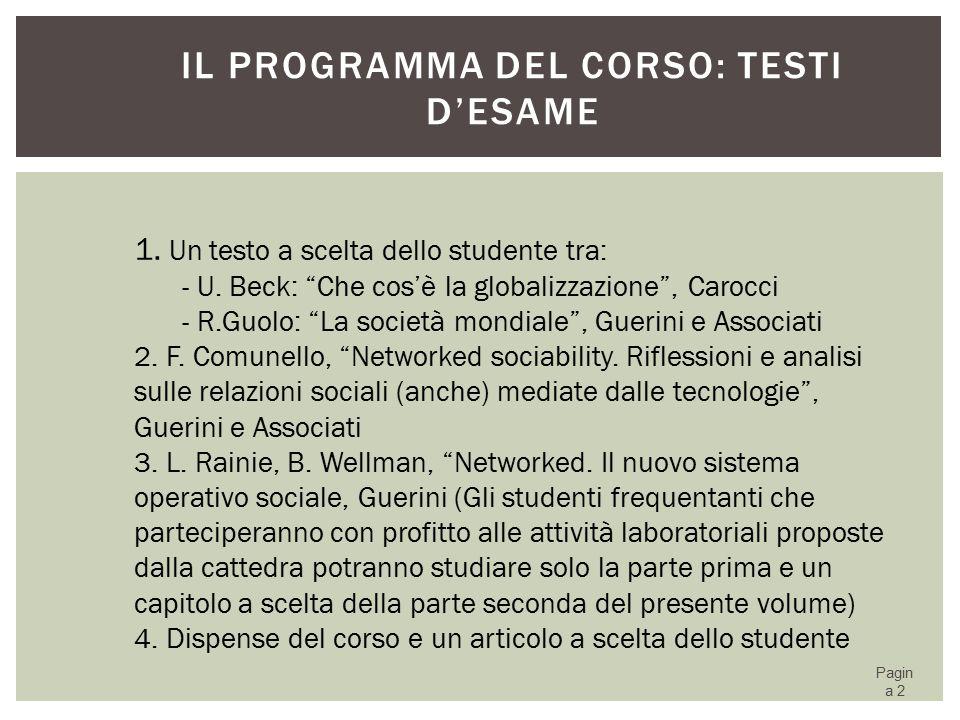 INTERNET IN ITALIA (ISTAT, DICEMBRE 2014) 63
