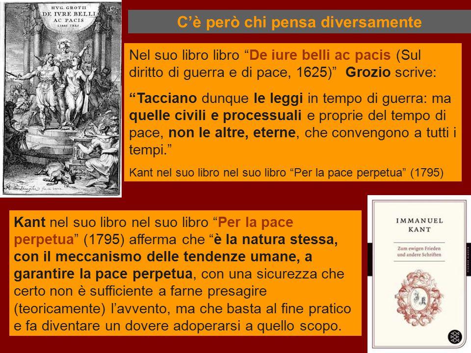 """Nel suo libro libro """"De iure belli ac pacis (Sul diritto di guerra e di pace, 1625)"""" Grozio scrive: """"Tacciano dunque le leggi in tempo di guerra: ma q"""