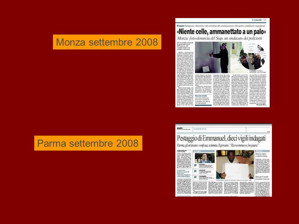 Monza settembre 2008 Parma settembre 2008