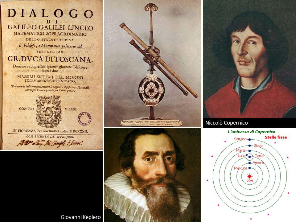 Niccolò Copernico Giovanni Keplero