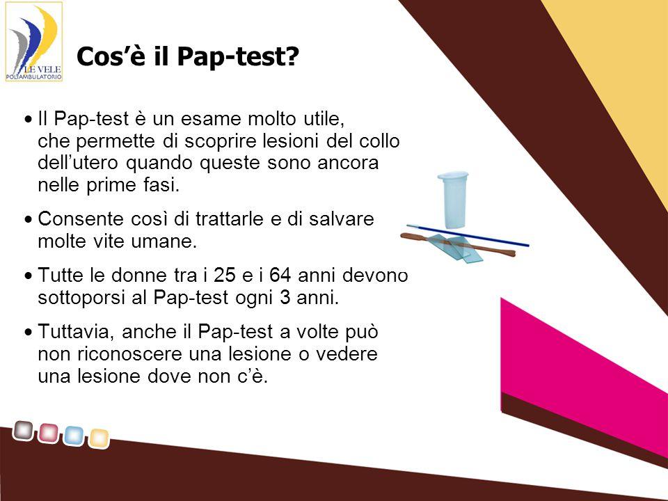 Cos'è il Pap-test.