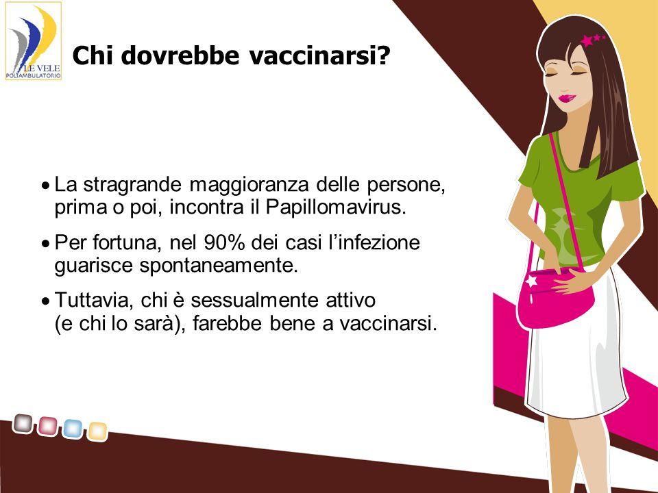 Chi dovrebbe vaccinarsi.