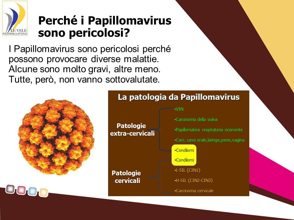 Perché i Papillomavirus sono pericolosi.
