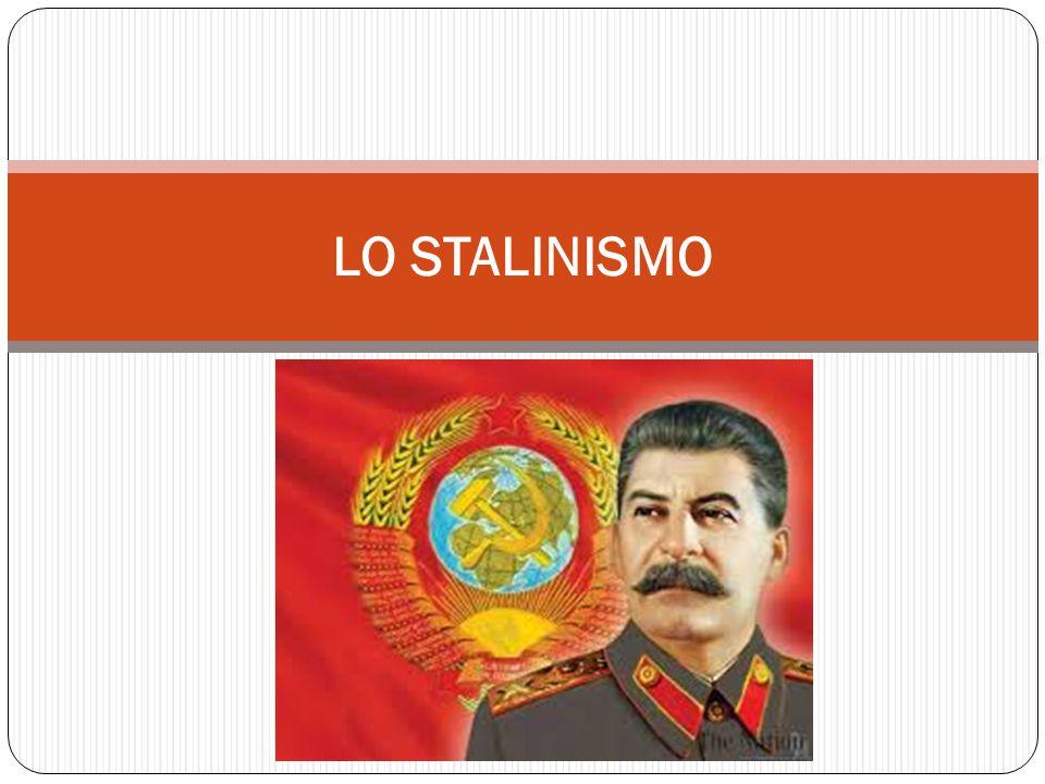 LA SUCCESSIONE A LENIN Alla morte di Lenin (1924) si apre la lotta per la successione tra Trozkij (capo dell'Armata Rossa) e Stalin (segretario del partito comunista (i bolscevichi)) Stalin ha la meglio, e Torzkij viene espluso dal partito e costretto a lasciare l'URSS Stalin diventa padrone assoluto del partito fino alla morte (1953) ed instaura una dittatura spietata in nome del comunismo