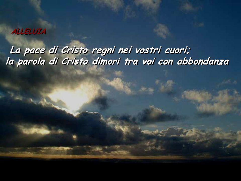 Gal 6,14-18 Fratelli, quanto a me non ci sia altro vanto che nella croce del Signore nostro Gesù Cristo, per mezzo della quale il mondo per me è stato