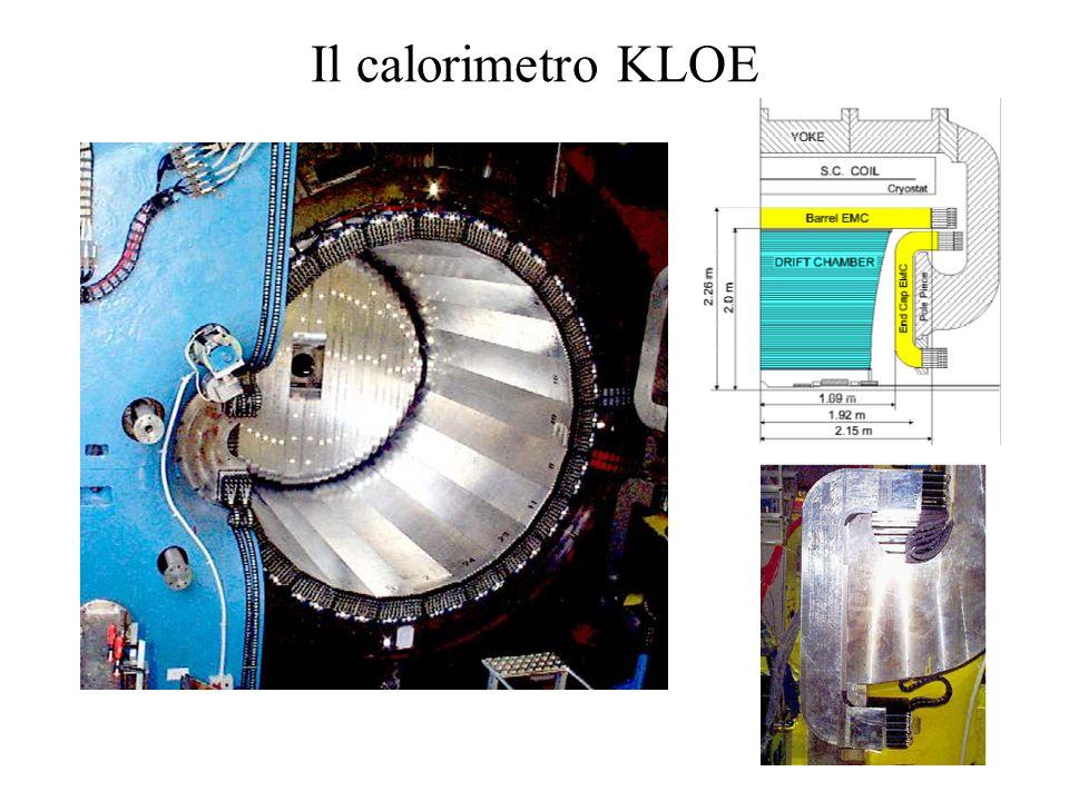 Il calorimetro KLOE