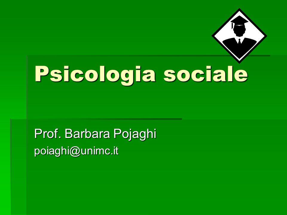 Cos'è la psicologia sociale.