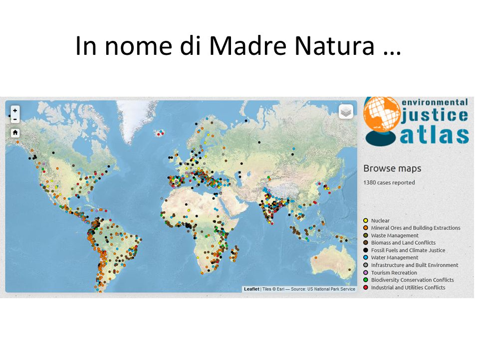 In nome di Madre Natura …