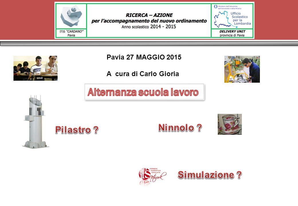 Pavia 27 MAGGIO 2015 A cura di Carlo Gioria