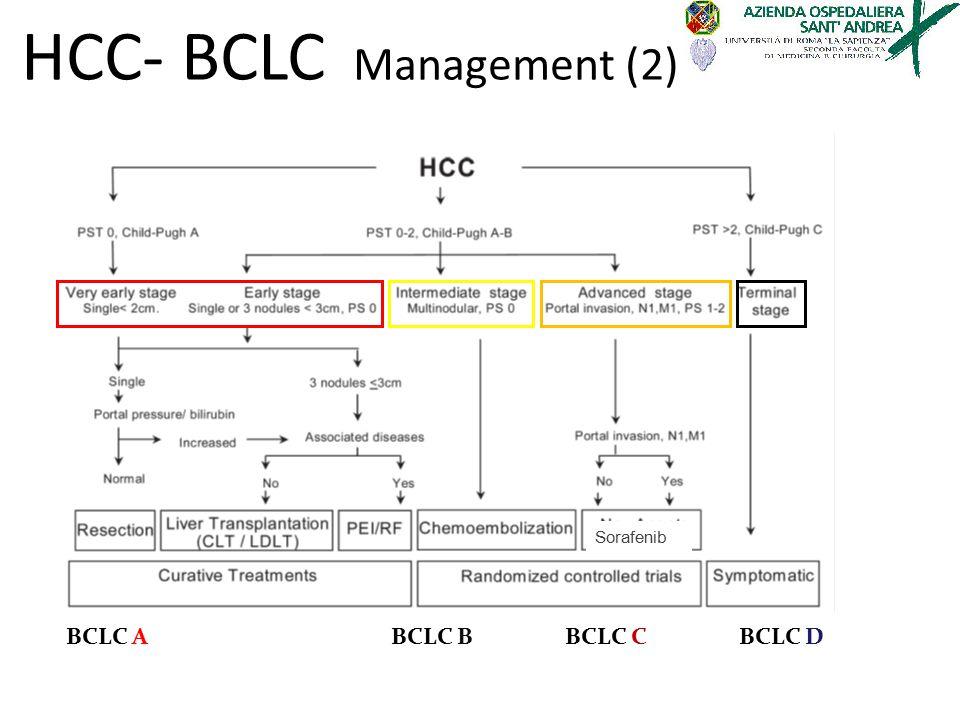 Sorafenib BCLC ABCLC BBCLC CBCLC D HCC- BCLC Management (2)