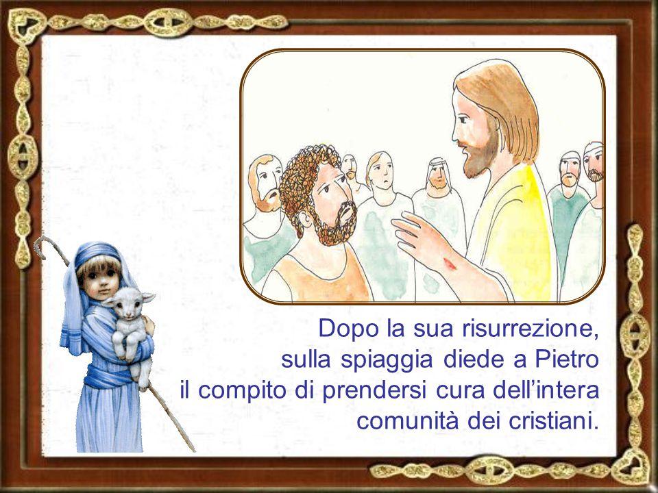 Durante l'ultima cena Gesù affidò ai discepoli la continuazione della sua missione.