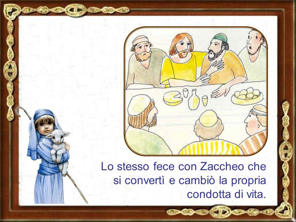 Durante un banchetto Gesù invitò Matteo a diventare suo discepolo.