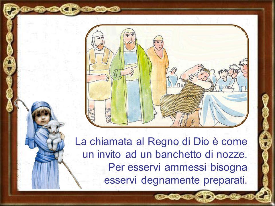 Il tempo in cui il Messia viene tra noi è come un banchetto e il Messia è lo sposo, cioè il protagonista: bisogna essere lieti e far festa con lui.
