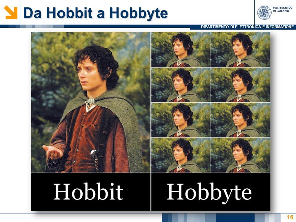 DIPARTIMENTO DI ELETTRONICA E INFORMAZIONE Da Hobbit a Hobbyte 16