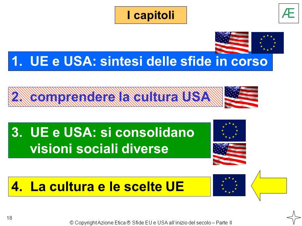 3. UE e USA: si consolidano visioni sociali diverse I capitoli 18 1.