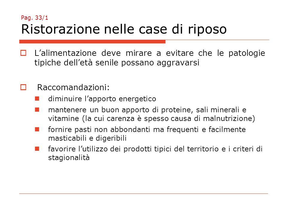 Pag. 33/2 Ristorazione nelle case di riposo
