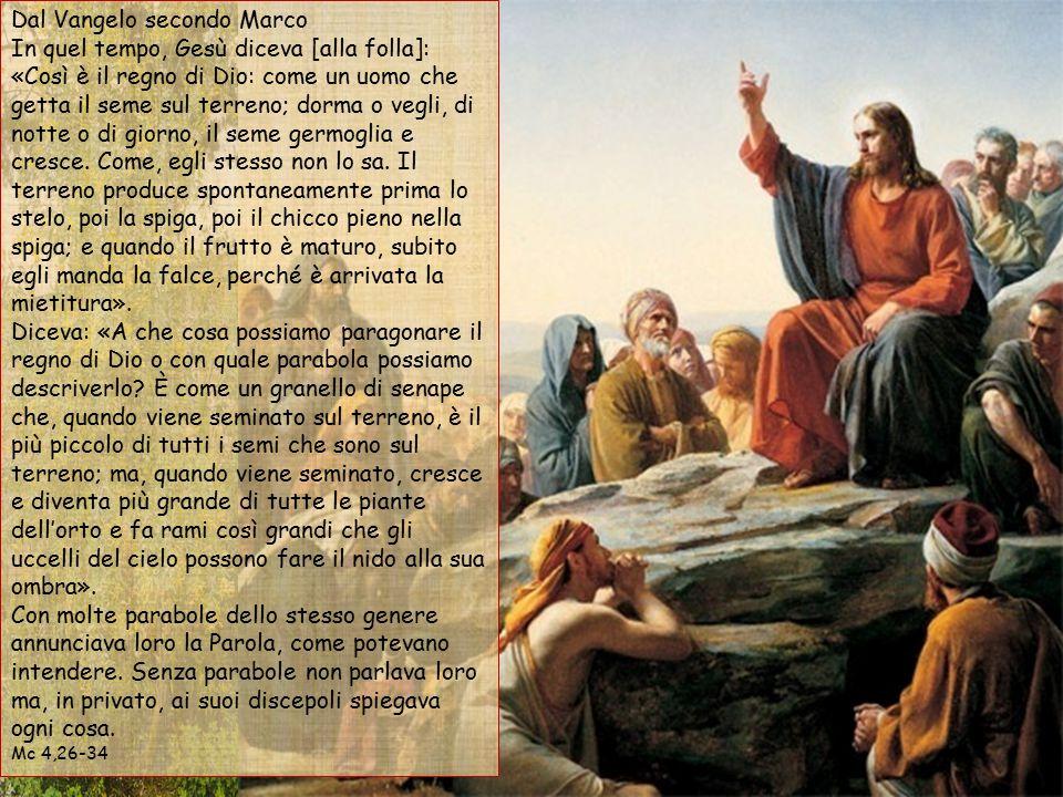 Alleluia, alleluia. Il seme è la parola di Dio, il seminatore è Cristo: chiunque trova lui, ha la vita eterna. Alleluia.