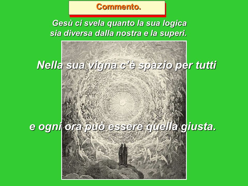 18 Settembre 2011 18 Settembre 2011 XXV^ DOMENICA DEL TEMPO ORDINARIO/A Isaia 55, 6-9 - Filippesi 1, 20-24.