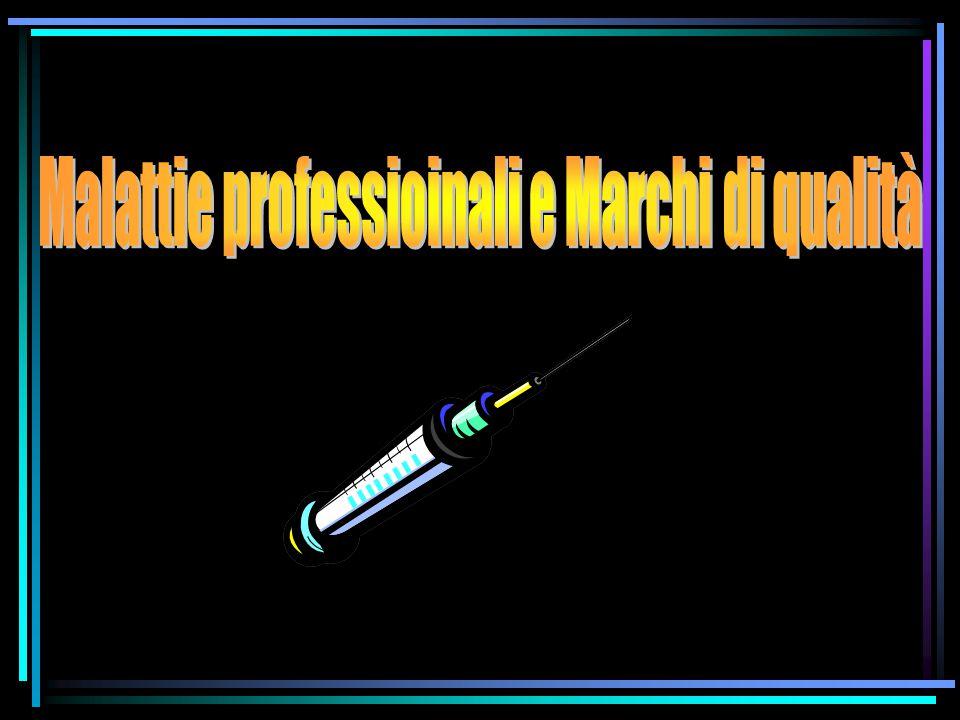 Il fenomeno delle malattie professionali è legato: _ alla concentrazione delle sostanze.