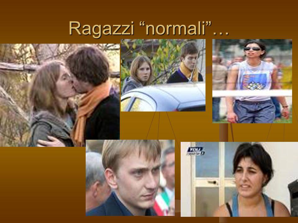 """Ragazzi """"normali""""…"""