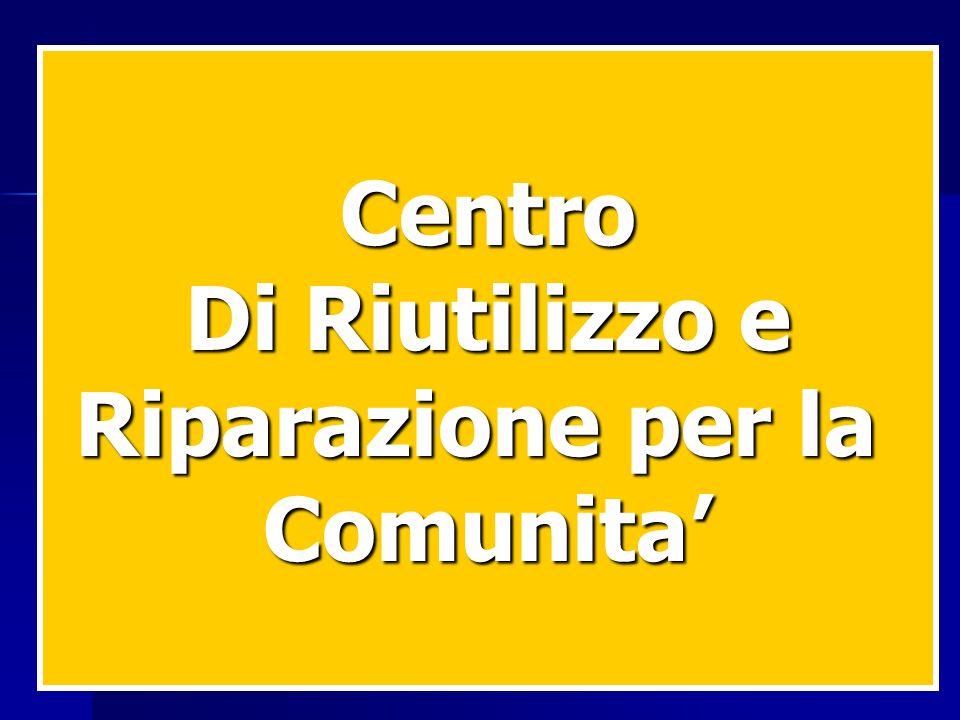 Centro Di Riutilizzo e Riparazione per la Comunita'