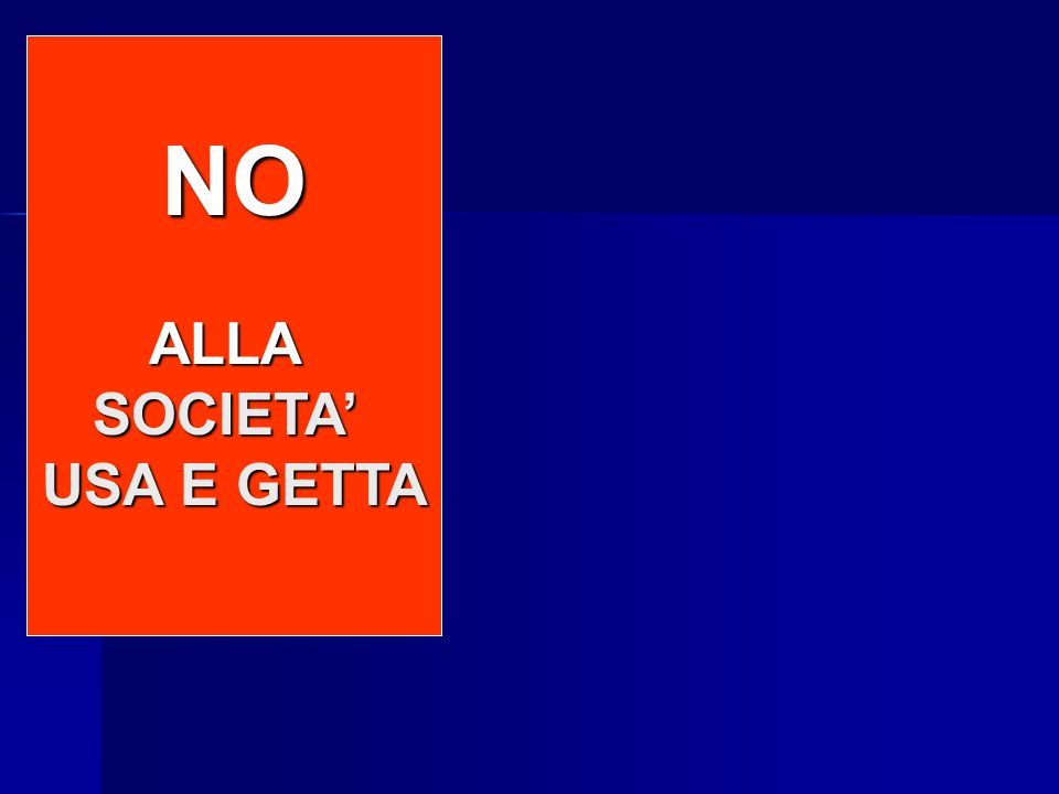 NO to INCINERATORS NO to LANDFILLS NO ALLASOCIETA' USA E GETTA