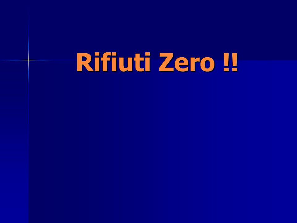 Rifiuti Zero !!