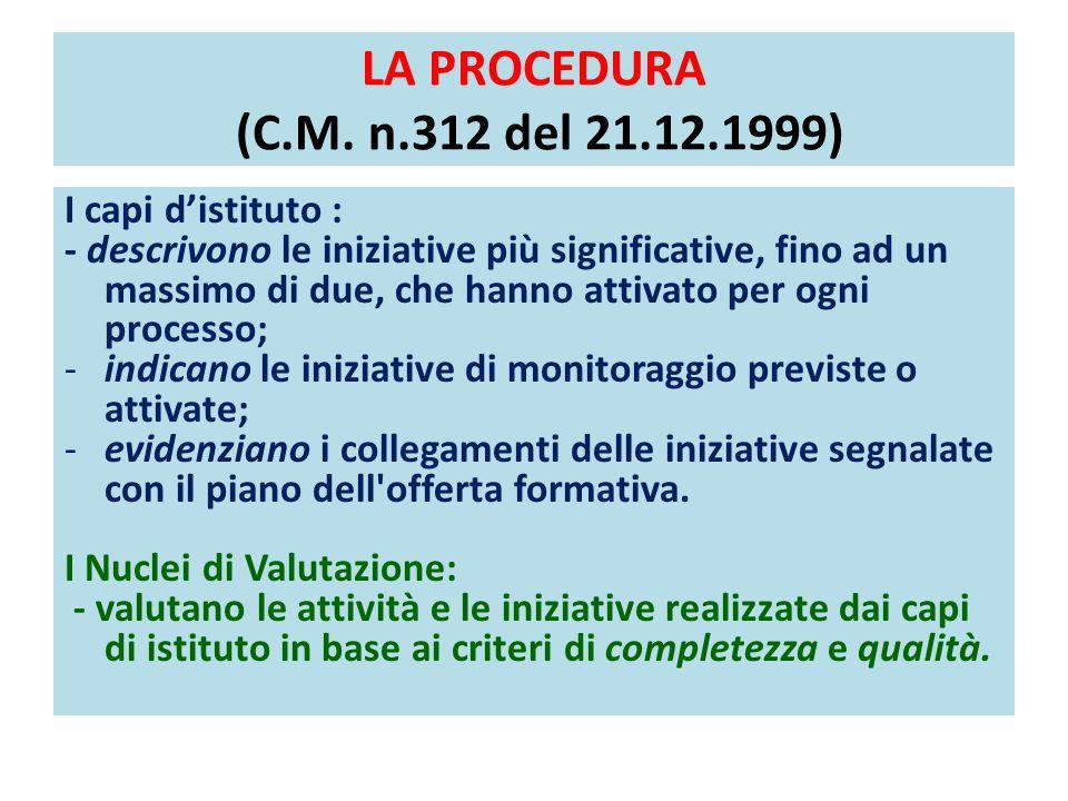 L'AVVIO DEL PROGETTO VALES C.M.n.