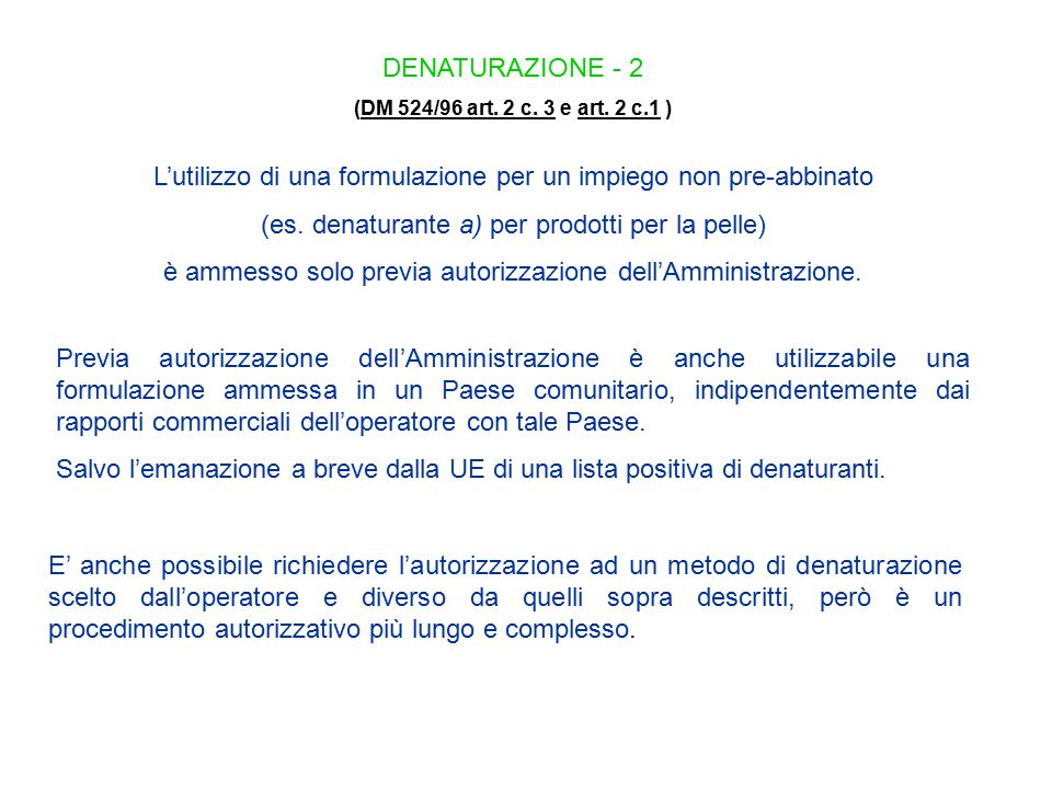 CONTABILITA' 1 (DM 524/96 art.12 e art. 2 c. 6)DM 524/96 art.