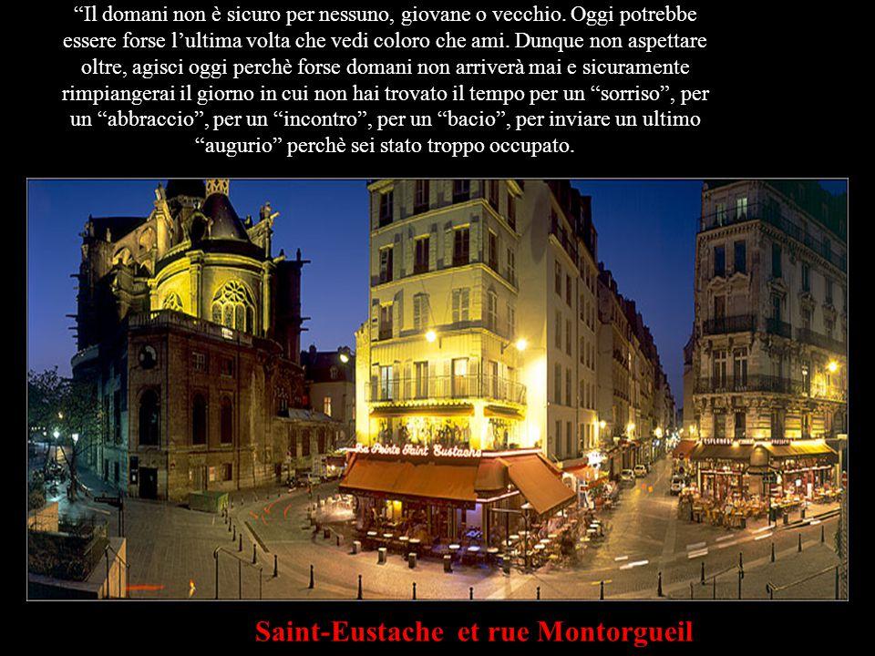 Montmartre C'è sempre un domani e la vita ci dà un'altra opportunità di fare bene le cose; ma se sbaglio, e questo giorno qui è il solo che mi resta, mi piacerebbe dirti quanto ti amo e che non ti dimenticherò mai.