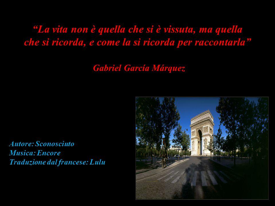 Il ponte Alexandre III Gabriel José de La Concordia García Márquez, nato in Colombia nel 1927, premio Nobel per la Letteratura nel 1982.