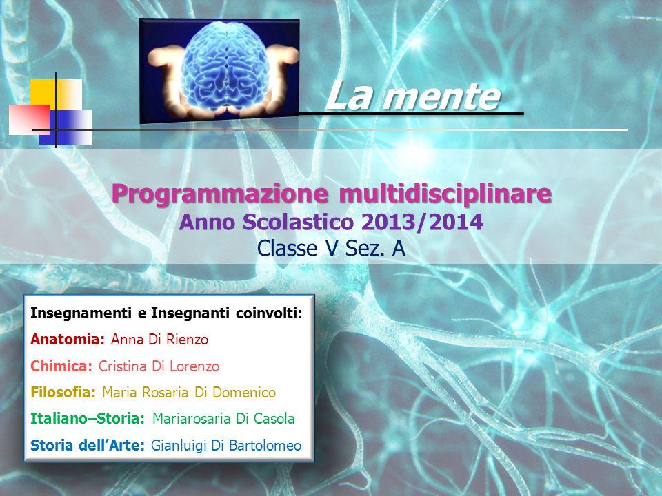Programmazione multidisciplinare Programmazione multidisciplinare Anno Scolastico 2013/2014 Classe V Sez.